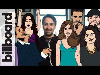 How Lin-Manuel Miranda Got 22 Artists to Help Puerto Rico with
