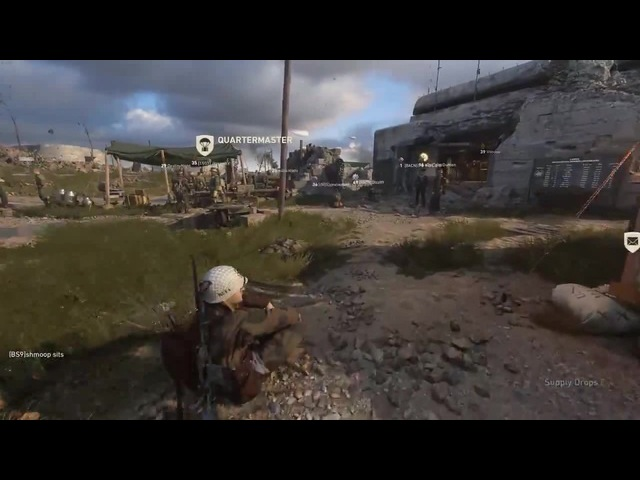 [CoD WWII] This is now my favorite thing to do in game
