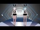 [MMD 4K] 17169E TDA Sexy Bunny Girls Single Lady [DL][RAY 1.3.1] My First edit model.