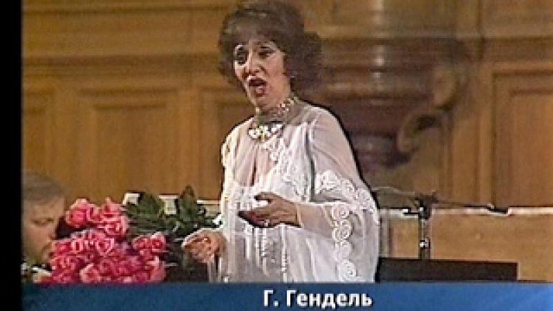 Зара Долуханова (колоратурное меццо-сопрано). Из концерта в БЗК, 1981