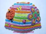 Летние вязаные шапочки для детей. Summer сrochet baby hats