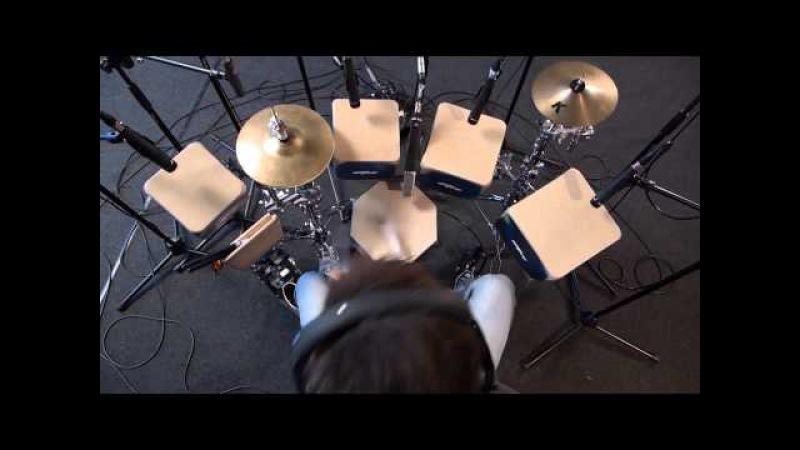 Cajón-Percussion-Drums von ERakkustik im Sonic-Music Tonstudio - Chemnitz