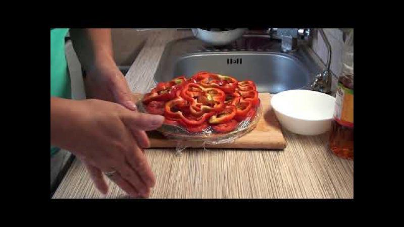 Замораживаем овощи для вкуснейшего овощного салата с баклажанами от Марии Смол ...