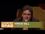 Vince Gill sings