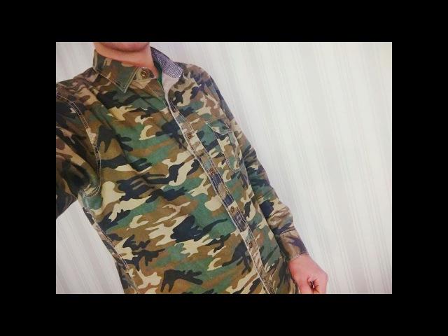 Французская рубашка Langmeng c Aliexpress