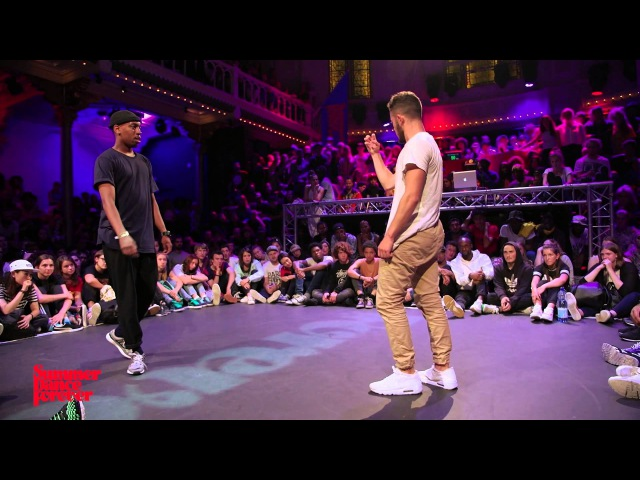 Waydi vs Jimmy Yudat SEMI-FINAL Hiphop Forever - Summer Dance Forever 2015