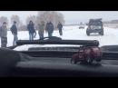 последствия аварии на трассе Омск-Муромцево (04.11.2017)