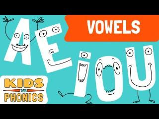 Short Vowels   a, e, i, o, u   Fun Phonics   Learn to Read   Kids vs Phonics