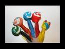 Краски для Детей - Учим Цвета - Развивающее видео и Игры для самых маленьких малы ...