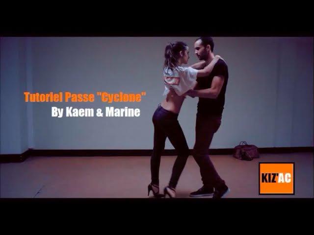 Kaem Marine Kiz'academy - Tutoriel Kizomba - Le Cyclone