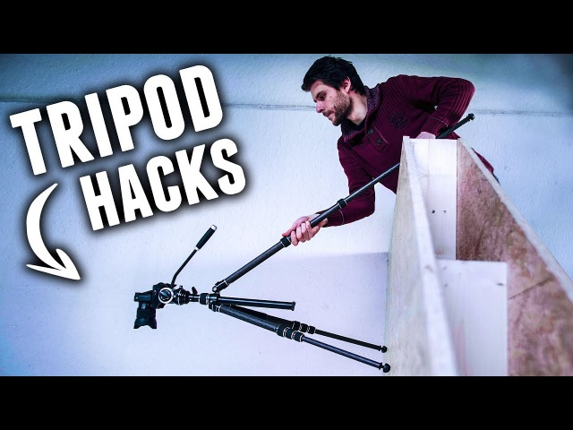 5 Creative TRIPOD HACKS