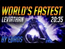 Destiny 2 Worlds Fastest Leviathan Raid 2035 - By Euros