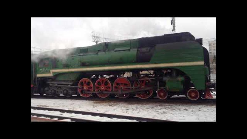 П36-0120 на станции Подмосковная 2 декабря 2017г.