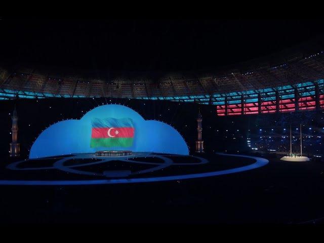 IV İslam Həmrəyliyi Oyunlarının rəsmi açılış mərasimi - TAM VERSİYA