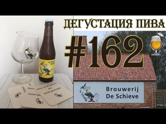 Дегустация пива 162 бельгийский Schive Tripel от De Schieve Эксклюзив Кривой бокал 18
