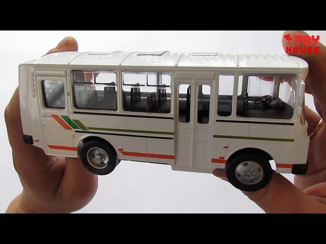 ПАЗИК ПАЗ-32053 модель автобуса.Распаковка и обзор модели от AUTOTIME.