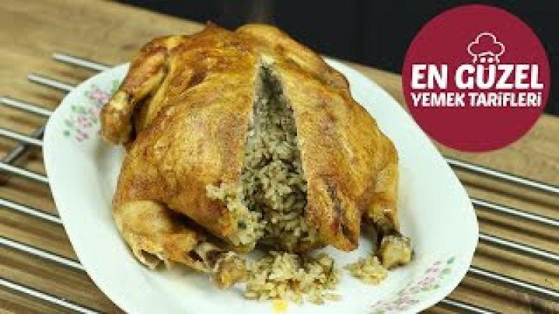Fırında Piliç Dolması , Tavuk Dolma Tarifi - En Güzel Yemek Tarifleri