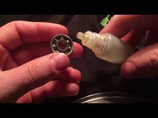 Как чистить подшипники для роликов