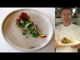 Dan Hunter's eggplant and saltgrass lamb 50-Second Dish