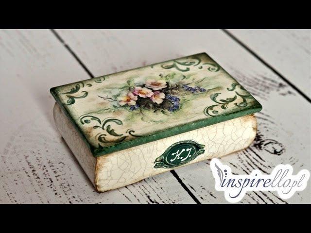 Decoupage krok po kroku - pudełko babuni z papierem ryżowym (zwiastun)
