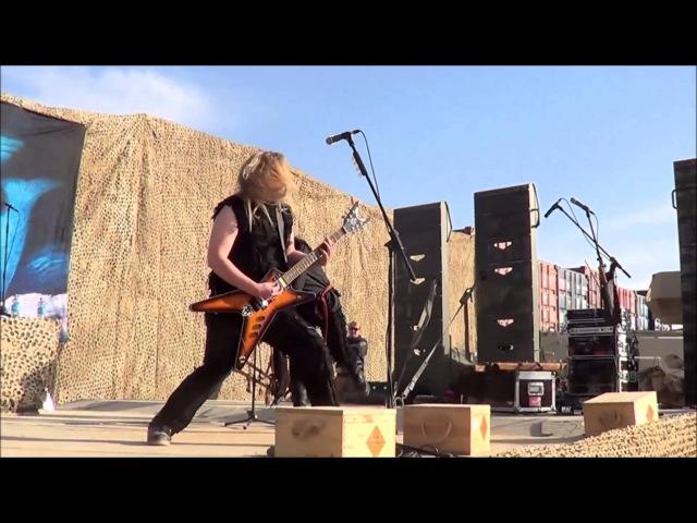 Metsatöll - Kivine Maa live from afganistan tour 2013