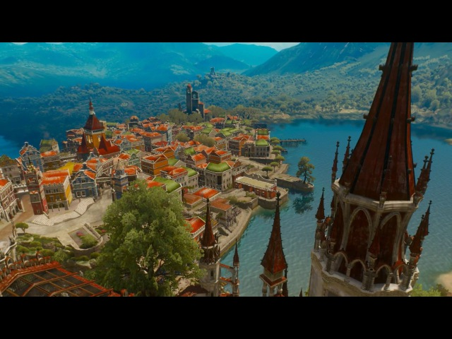 The beauty of Toussaint | The Witcher 3: Blood Wine Soundtrack - The Slopes of the Blessure