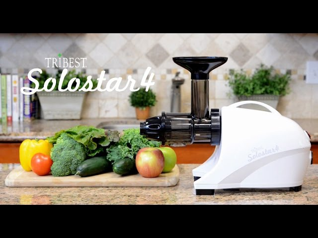 Tribest Solostar 4 Juicer – Beautiful on the Inside Too