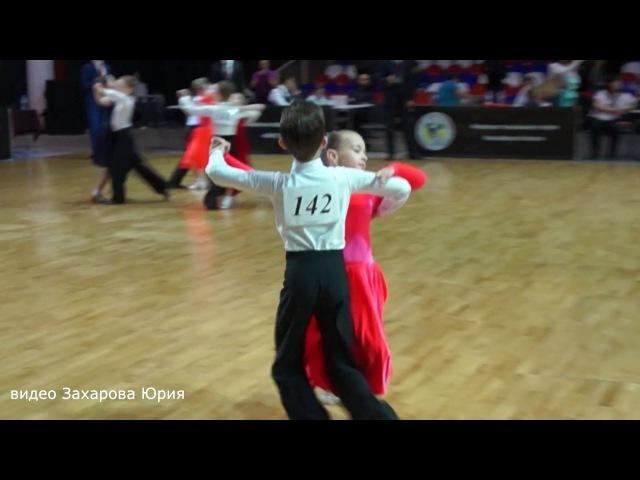 Квикстеп в 1/2 финала танцуют Захаров Степан и Крапивина Арина пара №142