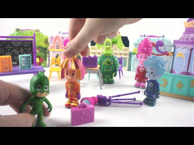 Видео про игрушки. Фиксики идут в в планетарий!
