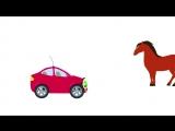 БИБИКА - Развивающий мультик для малышей про животных (Корова, лошадь, овца, свинья)