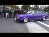 Old Japanese Cars parade
