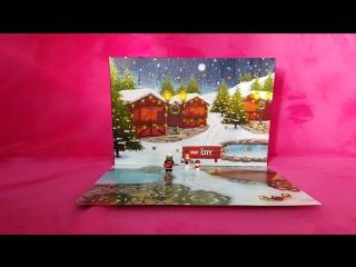 Lego City Advent Calendar Set 60133 Day 3 Opening