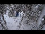 Свирский путь_проход по лесу, много снега