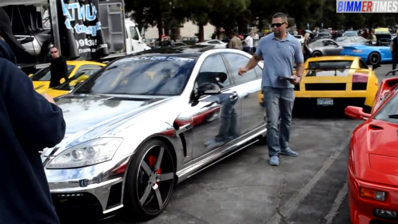 LORINSER_ Mercedes-Benz S65 Chromed Out Body Wrap W221