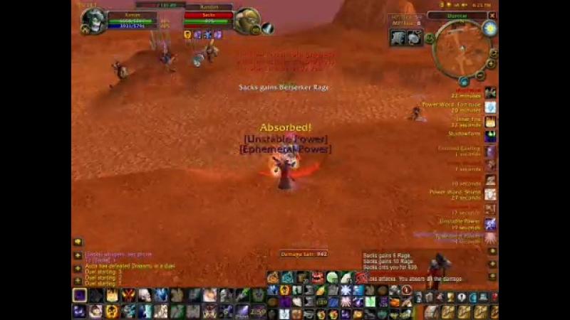 Classic World of Warcraft Xantim XWL 60 Shadow Priest