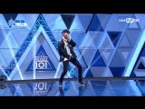 [PERF.] 170414 Lee Ji Han (Pan Ent.) – EP.2 Produce 101 @ Mnet Official