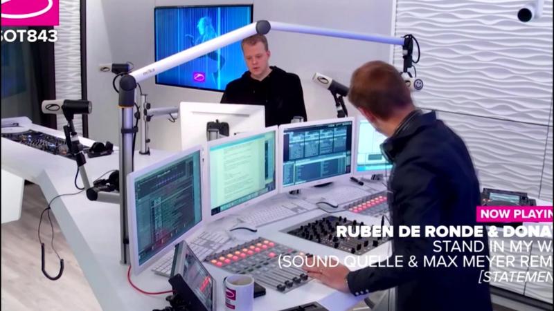 Ruben De Ronde feat Donata - Stand In My Way (Sound Quelle Max Meyer Remix) @ ASOT 843 with Armin van Buuren