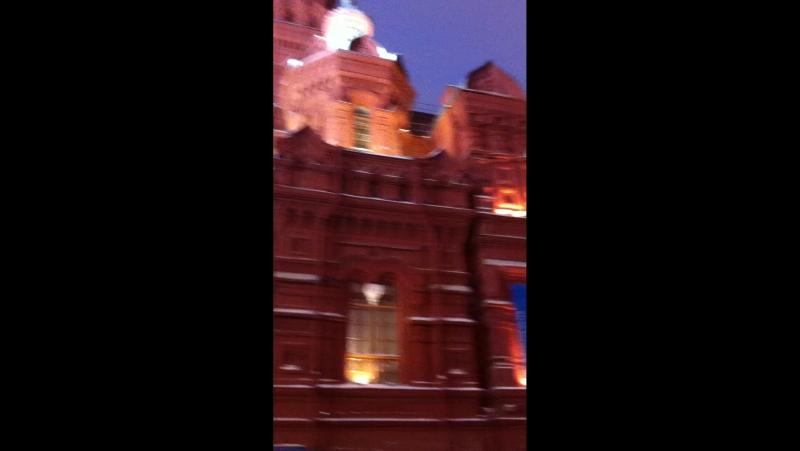 Звон колоколов на Красной площади