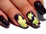 Очень Красивый и простой Осенний дизайн ногтей. ТОП удивителные дизайны ногтей