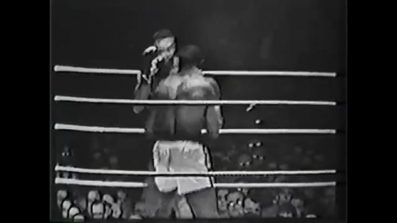 1960.03.21 Сонни Листон-Кливленд Уильямс Sonny Liston vs Clevelant Williams II