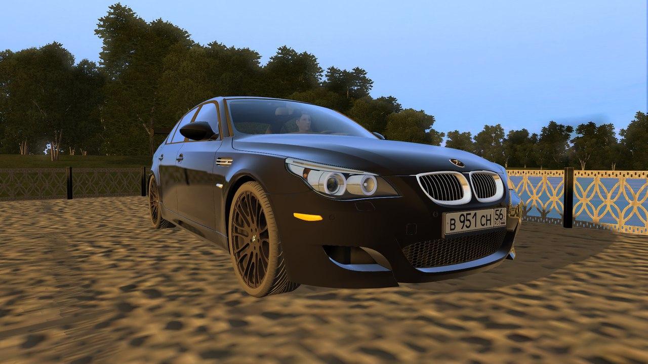 BMW M5 E60 Tuning - для City Car Driving 1.5.1 - 1.5.2