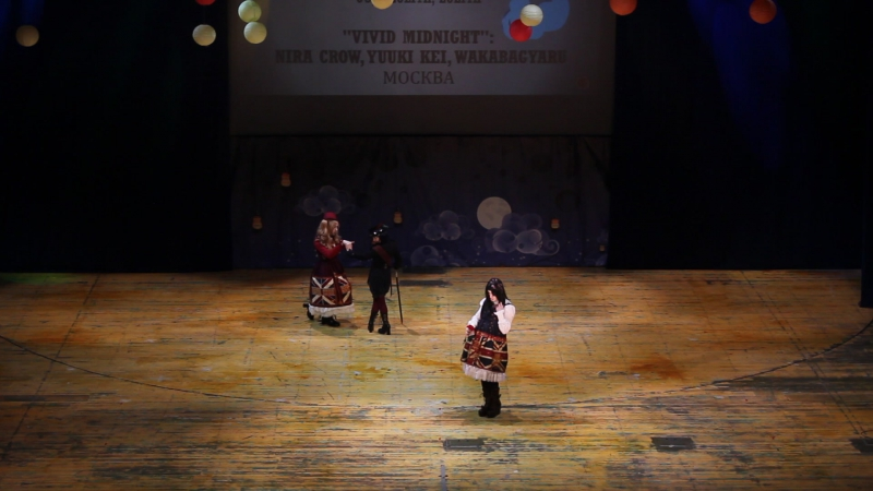 Lolita, Ouji : Ouji, Lolita, Lolita — Vivid Midnight : Nira Crow, Yuuki Kei, WakabaGyaru — Москва - Oni no Yoru 2017 » Freewka.com - Смотреть онлайн в хорощем качестве