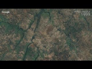 Google Timelapse - Mungo, Angola