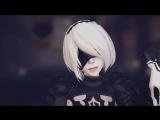 【NieR Automata】2BでGirls!【Ray-MMD】