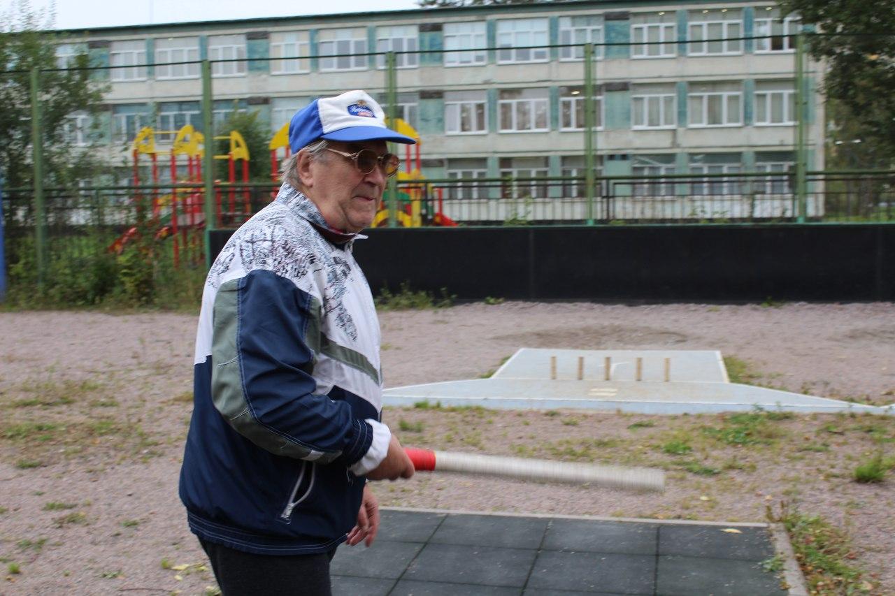 Скандинавская ходьба, Броски мяча по кольцу, Городки