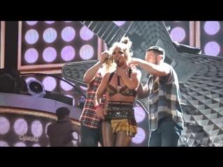 Britney Spears - I Love Rock N Roll-Gimme More Wardrobe Malfunction in Las Vegas (10-22-16)