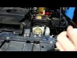 Мицубиси Паджеро (Mitsubishi Pajero) замена масла в ГУР гидроусилителе руля