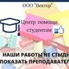 Заказать дипломную, курсовую в ООО Вектор