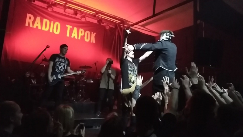 Rammstein Du Hast Cover by Radio Tapok Minsk 19 11 2017