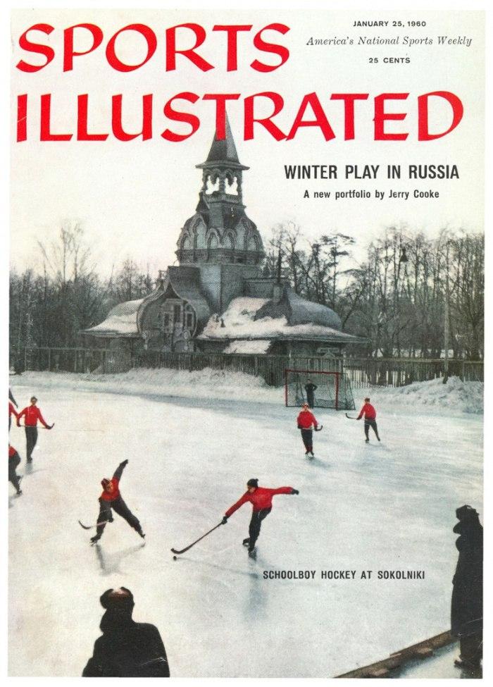 Обложка журнала Sports Illustrated, США, 1960 год.